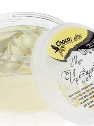 ChocoLatte Гель-крем для мытья волос МУСС ЦИTРУСОВЫЙ натуральный шампунь с соком и эфирным маслом Лимона 280 мл для жирных волос