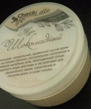 ChocoLatte Гель-крем для мытья волос МУСС ШОКОЛАДНЫЙ натуральный шампунь с какао 280 мл для всех типов волос