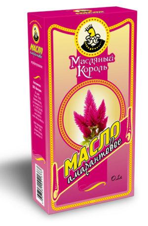 Масло Амаранта 100 % первый холодный отжим 100 мл стекл. упак. Масляный король