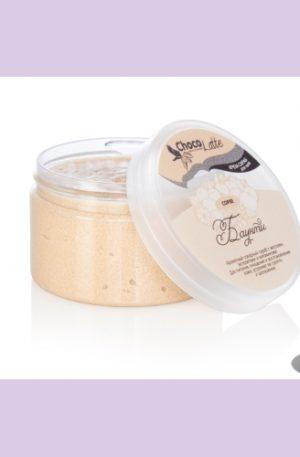 ChocoLatte Крем-скраб для тела СОРБЕ сахарный БАУНТИ с какао и кокосовой стружкой 280 гр